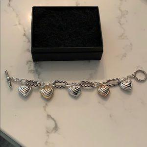 5 Heart Dimensional Bracelet